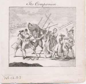 18th C Satire/ filth